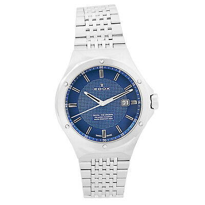 Edox Men's Delfin 200M Swiss Blue Dial Men's Watch 53005 3M BUIN