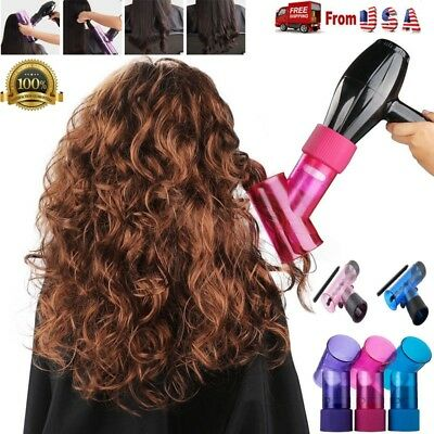 Beauty Wind Spin Hair Dryer Diffuser Tool for Curly Wavy Permed Hair, Hair Blow
