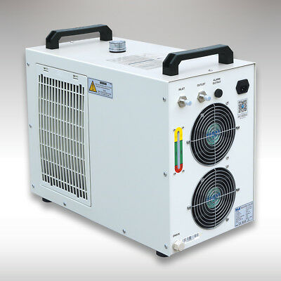 110V S&A! CW-5000DG Industrial Water Chiller for 80W 100W 120w CO2 Laser Tube