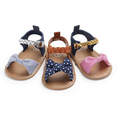1 Pair Baby Woven Sandals Shoe Simple Sneaker Anti-slip Soft Sole Toddler Shoes