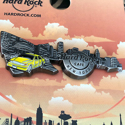 Hard Rock Cafe NEW YORK 3D Skyline Guitar Series 16 Pin - SOLD OUT