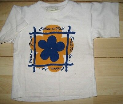 baby girls t-shirt age 9m -18m approx, bargain as ex stock clearance /eco cotton