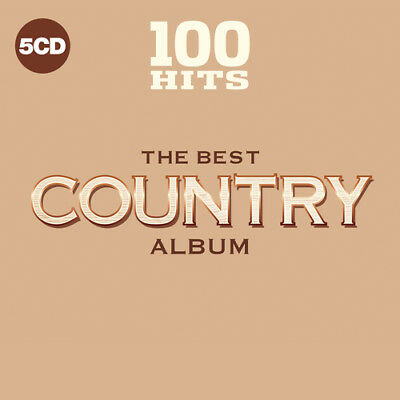 Various Artists : 100 Hits: The Best Country Album CD (2018) ***NEW***