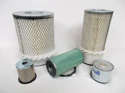 Oil filter, Fuel filter, Air Filter for Lister Petter HRWM & HRWSM engines