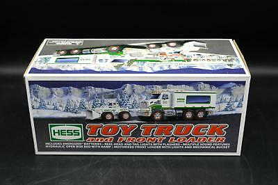 New Hess Gasoline 2008 Toy Truck and Front Loader - In Box