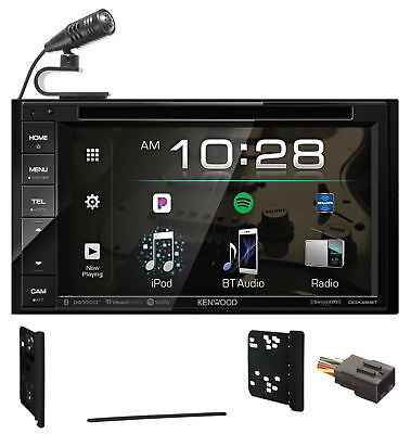 Kenwood DVD/iPhone/Android Bluetooth/USB Receiver For 2000-2010 Ford F-650/750