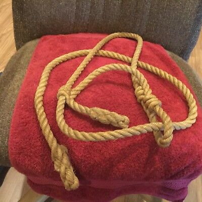 Hand Made Rope Cow Halter