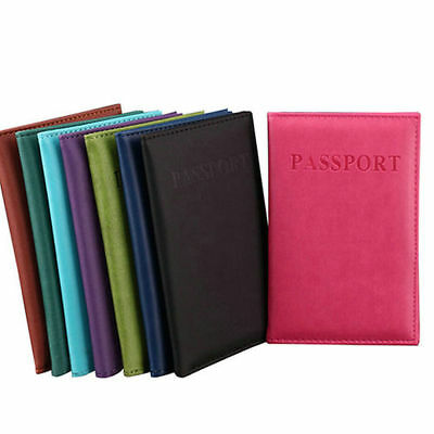 Fashion Quality Travel Passport ID Card Cover Holder Case Protector Organizer