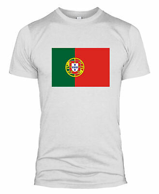 Portugal Flag T Shirt Country National Football Team Support World Cup Mens L254
