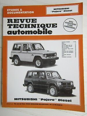 Revue Technique Automobile Mitsubishi Pajero Diesel