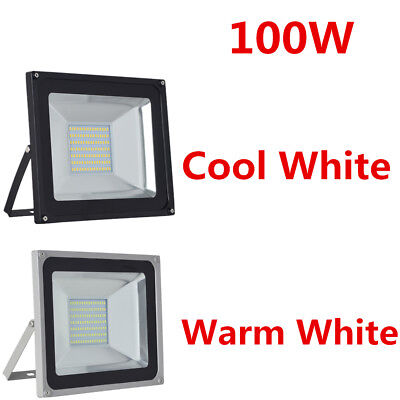 10-100W LED Cool/Warm White Floodlight Outdoor Security Lights Garden Lamp 220V