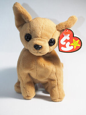 Ty Beanie Baby - Tiny the Chihuahua Dog - MWMT