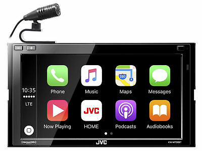"JVC KW-M740BT 6.8"" 2-Din Car Media Receiver w/Apple CarPlay/Android Auto/Weblink"
