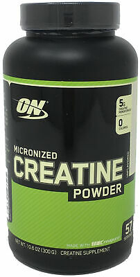 Optimum Nutrition Creatine Monohydrate Micronized Powder Unflavored 57 Servings)