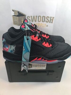 NIKE AIR JORDAN 5 RETRO LOW CNY CHINESE NEW YEAR 840475-060 Size 16 9d547cd05