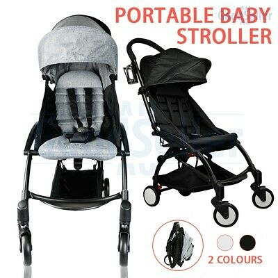 Compact Lightweight Baby Stroller Pram Jogger Foldable Pushchair Travel On Plane
