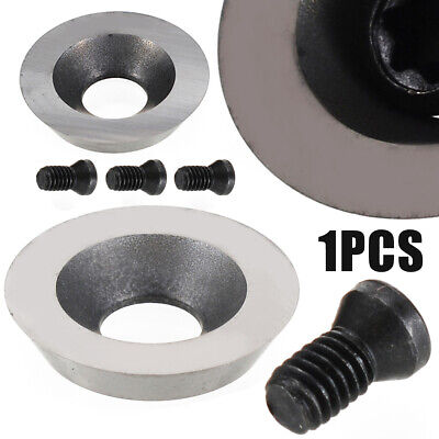 16mm Diameter Round Carbide Insert Cutter with M5 Screw for Wood Turning Tool