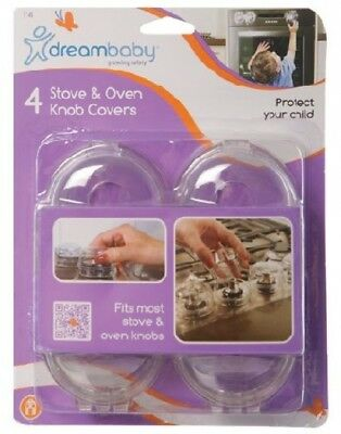 Pack Of 4 Stove and Oven Knob Covers - F141 - Dreambaby
