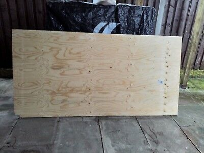 Spruce Plywood Board 18mm x 2440 x 1220