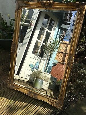 Gold Mirror Needs Repair To Frame Grab a bargain 99p start collection only