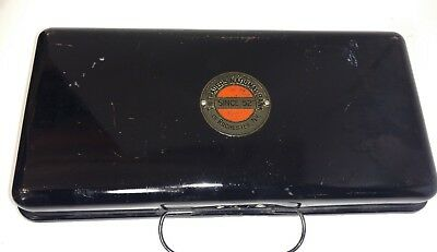 Vintage Cash Strong Lock Box Traders National Bank Rochester New York NY