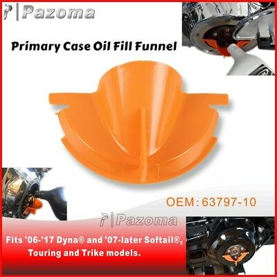 Primary Case Oil Fill Funnel For Harley 06-17 Dyna and 07-later Softail 63797-10