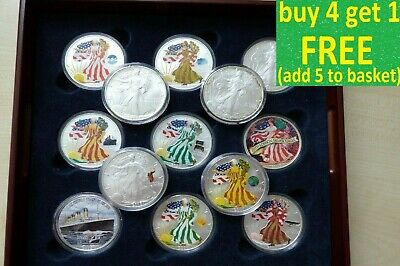 Silver Coins and Sets Choose Yours Britannia Eagle 1oz