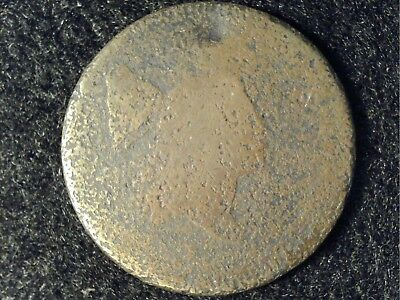1795, 1796 or 1797 Plain Edge US Half Cent in Poor Condition