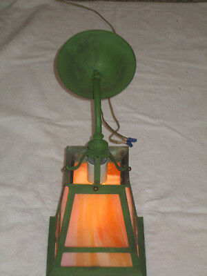 Arts And Crafts Mission  Electric Porch Light Sconce