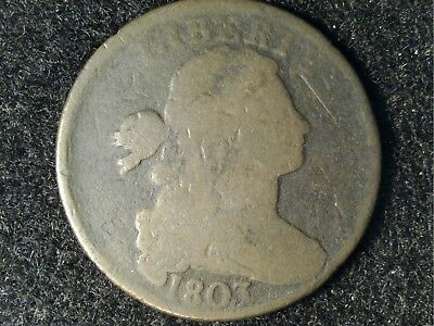 1803 Draped Bust Large Cent #2 - Brown and Slightly Porous