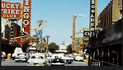 8mm Home Movies 1940s - 1950s Vegas,New York, Chicago,Cars,more Eight 50' reels