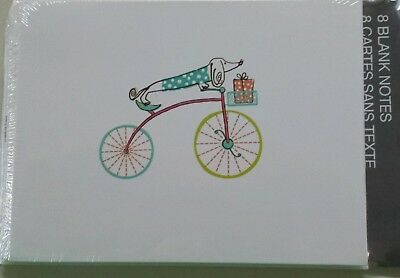 NEW 8 Dachshund Weiner Dog Cards Doxie Blank Notes Thank you