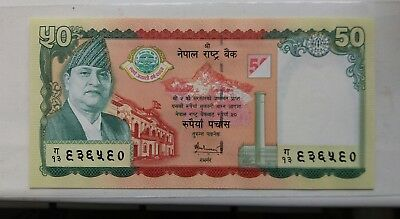 Nepal 50 Rupees, 2005, P-52, UNC>50th COMM.