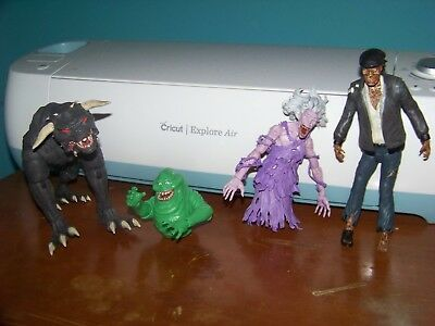 Ghostbusters Figure Lot- Diamond Select Ghost Figures Slimer Terror Dog MORE