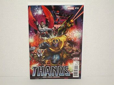 Thanos #10 (NM or 9.4) - 1st Print - Lemire - Peralta - Sold Out!