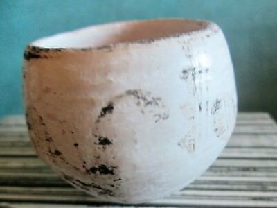 1950's Small Acoma Pottery Bowl Signed Lucy M. Lewis