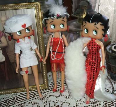 Three Beautiful Betty Boop Dolls To Add To Your Collection
