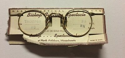 Assayed Gold Content New Old Stock Unisex Ful -Vue Eyeglasses Spectacle
