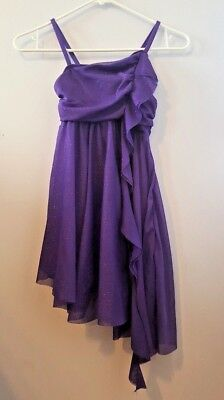 Balera Purple Dancewear Dress