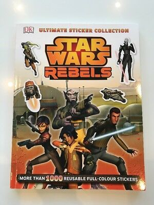 Star Wars Rebels Ultimate Sticker Collection NEW
