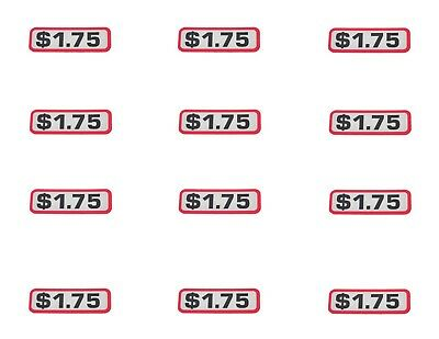 Other Dry Cleaning & Laundromat Dry Cleaning & Laundromat 12 Pack Greenwald $1.00 Slide Decal For V8 Body Part# 00-9905-4
