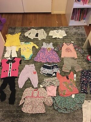 Baby Girl Clothes Size 00-1 Mambo Baby Bardot Pumpkin Patch