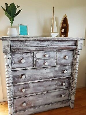Beautiful Restored Antique Drawers