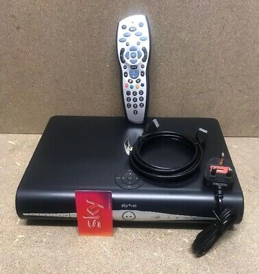 SKY + HD BOX Built In WiFi + REMOTE  POWER LEAD &HDMI LEAD+viewingcard