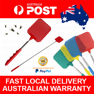 Telescopic Fly Swatter Makes Swatting Flies Pests Easy Kill Flys Mosquitoes