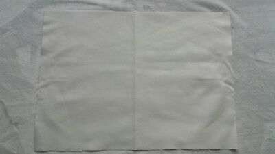 Two Pieces of Ivory 28 Count Evenweave Fabric for Cross Stitch