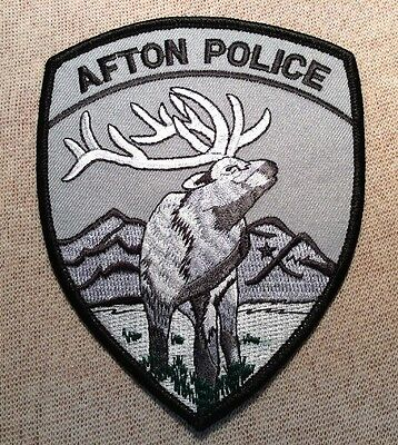 WY Afton Wyoming Police Patch