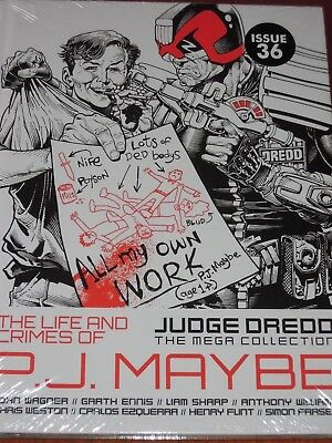 NEW SEALED Judge Dredd Mega Collection ISSUE 36 THE LIFE AND CRIMES OF PJ MAYBE