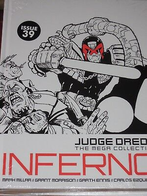 NEW SEALED Judge Dredd Mega Collection ISSUE 39 INFERNO