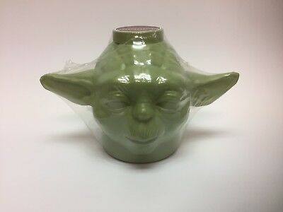 STAR WARS Yoda 7-11 Thermo-Serve Slurpee Cup w/ Lid 2005 Factory Sealed - Mint